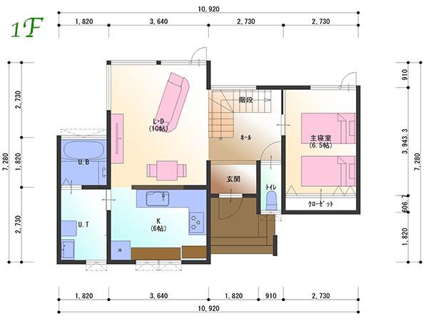 プラン2-1階