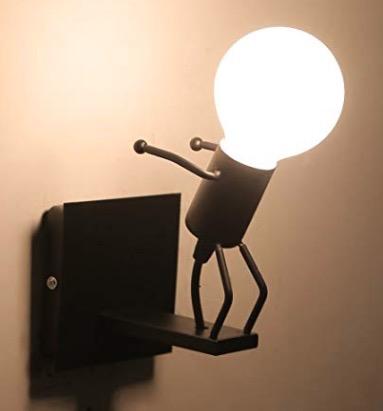 可愛い人形型の照明2